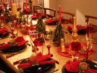 Yılbaşına Özel Yemek Masası Hazırlama