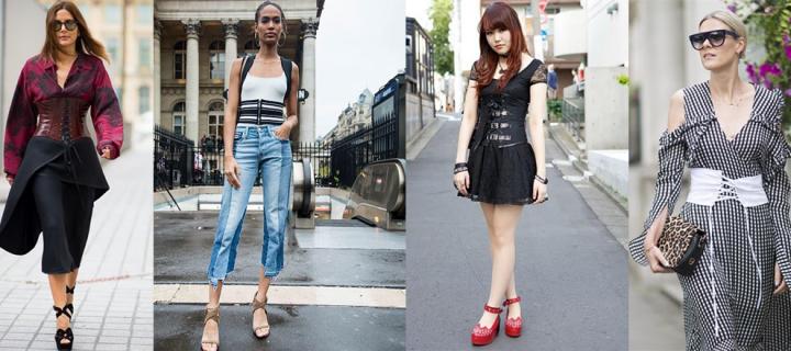 2017'nin Yeni Moda Trendi: Korseler